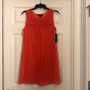 BCX Short Coral Sleeveless Dress
